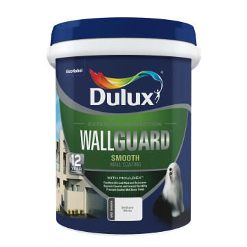 Paint exterior suede mid-sheen DULUX WALLGUARD California 20L,