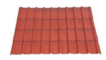 Bitumen Roof Tile Red Classic 3D 7 Pieces 1.06X0.40m ONDUVILLA