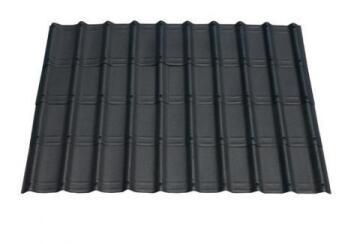 Bitumen Roof Tile 1.06m x 0.4m Black 7 Pack ONDUVILLA