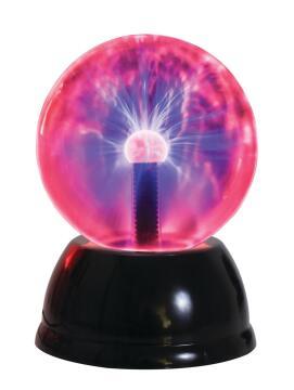 6' Plasma Ball With Sound Sensor