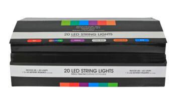 H163 Display Box 4 X Blue/Red/Purple/Coo