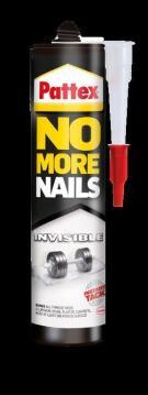 No more nails invisible adhesive 300ml pattex