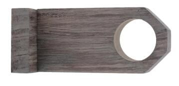 Curtain Rod Bracket 28mm Diameter Oak Sonoma 80mm