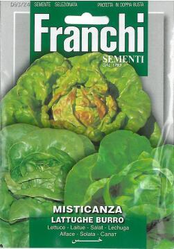 Seed, Lettuce Butter, FRANCHI SEMENTI