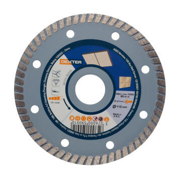 Diamond Disc Dexter Ceramic 115X22,2Mm