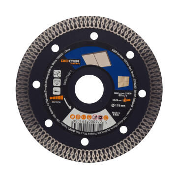 Diamond Disc Dexter Pro Ceramic 115X22,2Mm