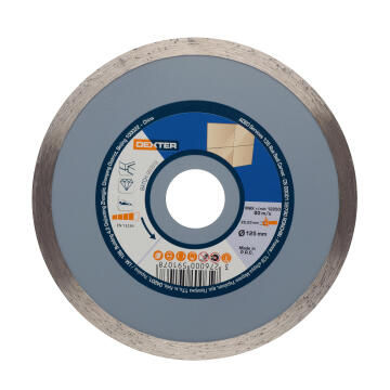 Diamond Disc Dexter Ceramic 125X22,2Mm