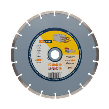 Diamond Disc Dexter Concrete 230X22,2Mm