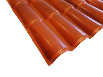 PVC Roof Sheet 2.9m Terra Cotta ICOPPO