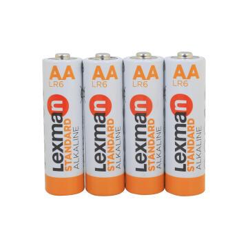 Battery Aa Alkaline 4 Pack Lr6 Lexman