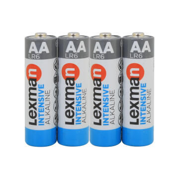 Battery Aa Alkaline 4 Pack Lr6 Lexman