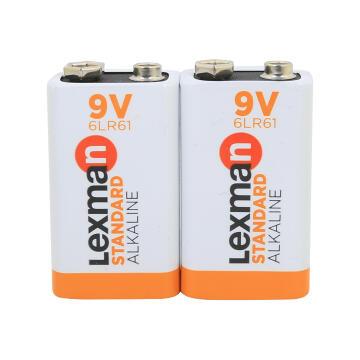9V Battery Alkaline 6Lr61 Lexman