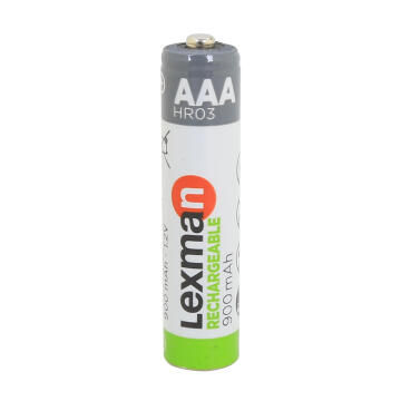 Lr03 Rechargeable Aaa Battery 4 Pk Lexma