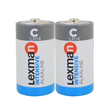 C Battery Lr14 Alkaline 2 Pack Lexman
