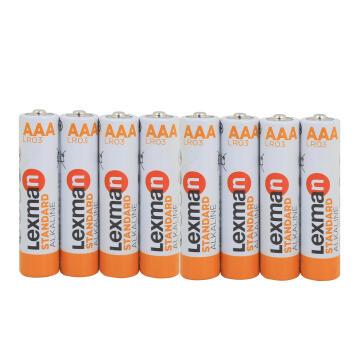 Battery Aaa Alkaline 8 Pack Lr03 Lexman
