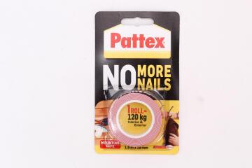 No more nails m/tape (120kg) 1.5mx19mm pattex