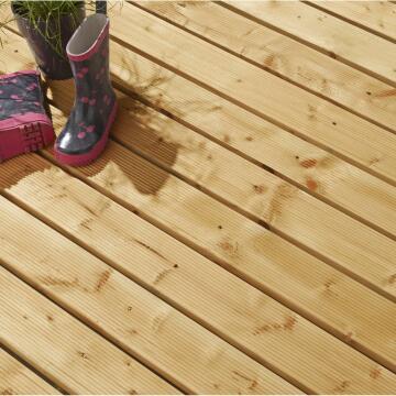 Decking Board Cl Iv 2.7cmX12cmX400 cm