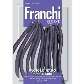 Seed, Bean Purple King, FRANCHI SEMENTI