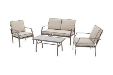 Sofa Set Roma relax set 4 seater with table