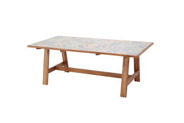 Table Ceramic Top Soho 105 cm X 205 cm X 75 cm