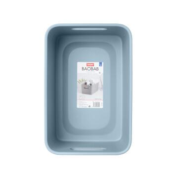 Laundry basket 5 l baobab blue mist