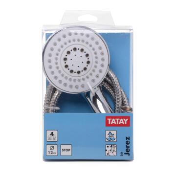 Complete shower kit jerez chrome