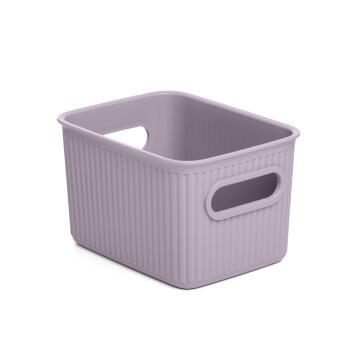Laundry basket 1,5 l baobab lilac
