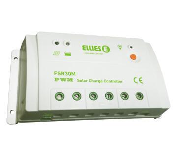 Solar charger 12V - 24V 30A