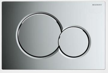 Actuator Plate Sigma1 Chrome Dual Flush GEBERIT