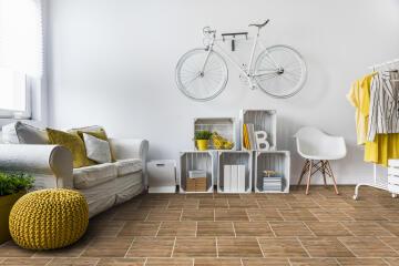 Floor Tile Ceramic Decking Earthen 500x500mm (1.7m2/box)