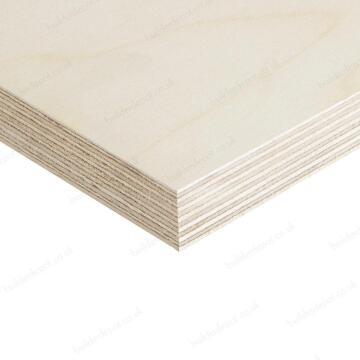 Board Plywood Birch Grade B/B 15mm thick-2440x1220mm