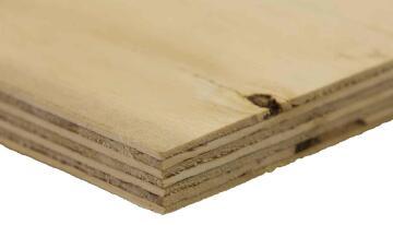 Board Pine Shutterply Grade C+/C 18mm thick-2440x1220mm