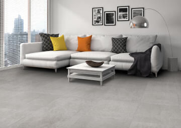Floor Tile Matt Porcelain Alpha Grey Slip Resistant 800x800mm (1.92m2/box)