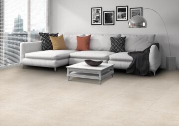 Floor Tile Matt Porcelain Alpha Beige 1200x600mm (1.44m2/box)