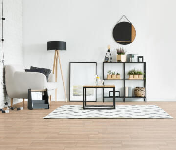 Floor Tile Ceramic Forest Natural 600x200mm (2.04m2/box)