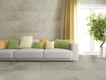 Floor Tile Matt Porcelain London Grey 600x600mm (1.8m2/box)