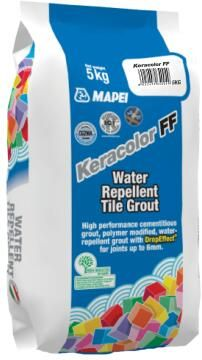 Tile Grout Water Repellent Anthracite MAPEI 5kg