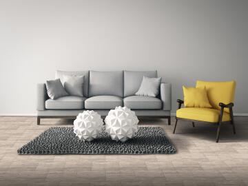 Floor Tile Ceramic Decking Ash 500x500mm (1.7m2/box)
