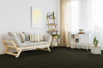 Floor Tile Ceramic Deco Black 330x330mm (1.8m2/box)