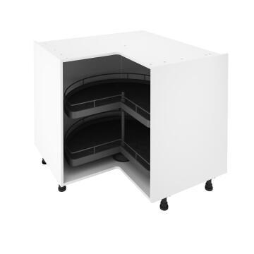 KitchenTurnstile 3/4 2 Basket For Bottom angle Cabinet 112X112X76,8