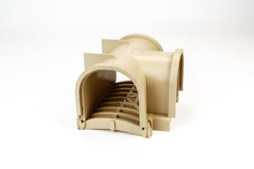 PVC Drain T-Piece Sandstone WATERFORM