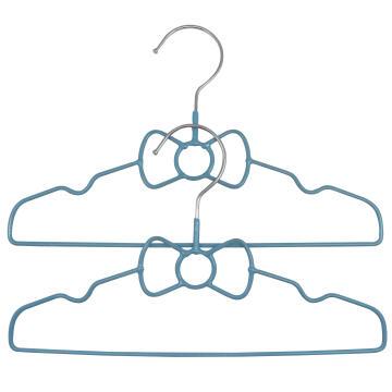2pc Hanger Kids Bow Blue