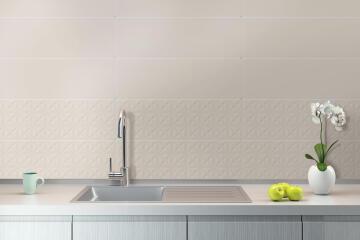 Wall Tile Ceramic Archi Bone 800x265mm (2.332m2/box)