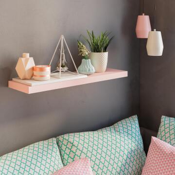 Floating shelf pink 80x23cm,,,,,