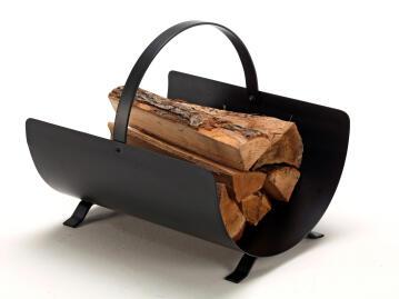 Arcade Log Holder Black/Steel