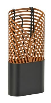 Fireplace Toolset Folia Black Copperl Servant