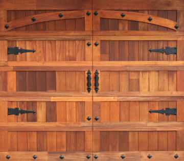 Garage Door Sectional Meranti Wood Barn-Single-w2500xh2170mm