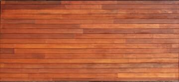 Garage Door Sectional Meranti Wood Horizontal Slats with finger joints-Double-w4950xh2170mm