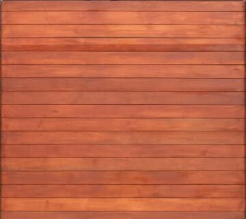 Garage Door Sectional Meranti Wood Horizontal Slats No Finger Joints-Single-w2500xh2170mm