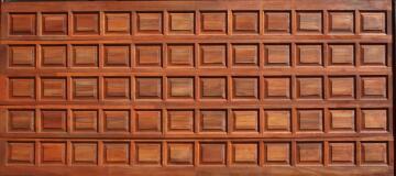 Garage Door Sectional Meranti Wood 60 Panel-Double-w4950xh2170mm
